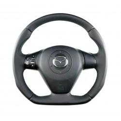 Mazda Rx8 Flat bottom steering wheel - leather